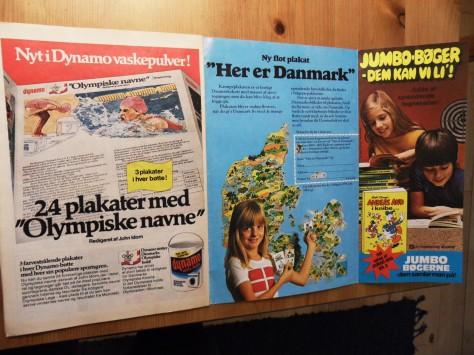 Man kan bestille sjove plakater, wee-haaa (Anders And fra 1976)!