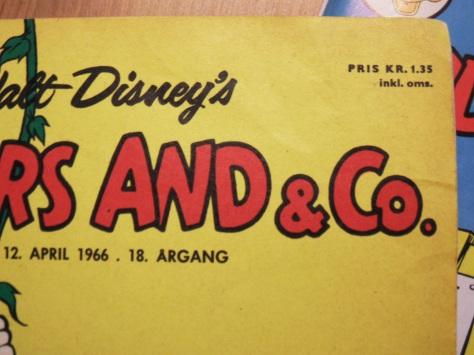 Anders And fra 1966. Til 1.35 inkl. oms!