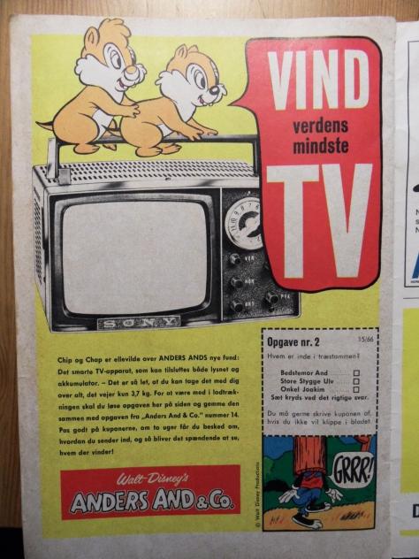 Vild konkurrence! Vind et FARVE-TV! Bemærk: Sony! Wuuuhhhh ;) Vi bør være så taknemlige for vores fladskærme...